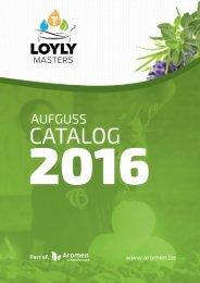 Loylymasters aufguss catalog 2016