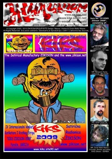 IV KIKS Zikison 2009. PORTRAIT cartoon - karcomics magazine ...