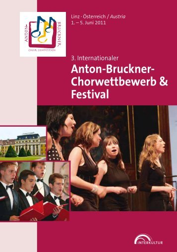Linz 2011 - Program Book