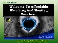 Boiler Repair Bournemouth|Affordable Plumbing