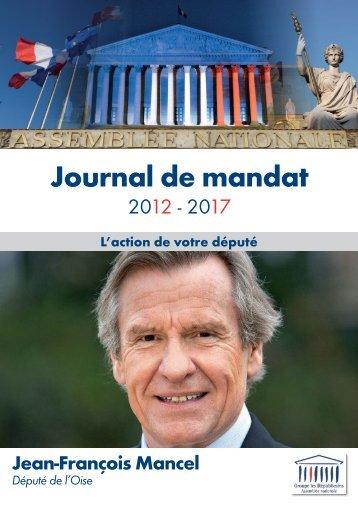 Journal de mandat