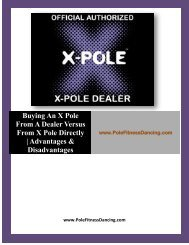 Buying An X Pole From A Dealer Versus From X Pole Directly - Advantages & Disadvantages