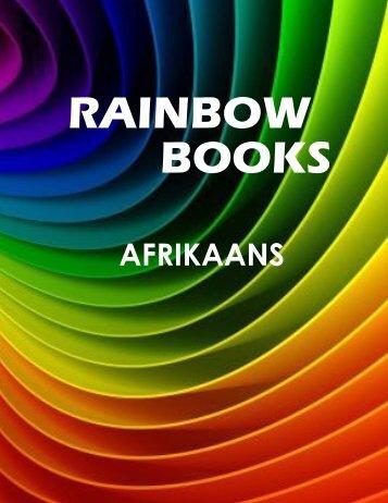 Rainbow books Afrikaanse brochure