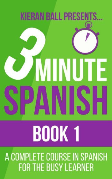 3 minute Spanish - Chapter 1