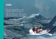 Succeeding in disruptive times
