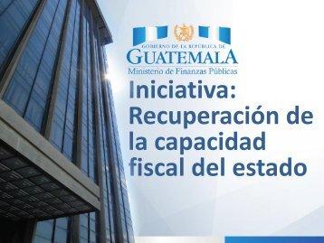 la capacidad fiscal del estado