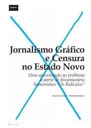 Jornalismo Gráfico e Censura no Estado Novo - Clube de Jornalistas