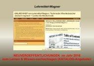 Automatiker-Woerterbuch: englische Technik-Vokabeln uebersetzen: ebook-Katalog 2016