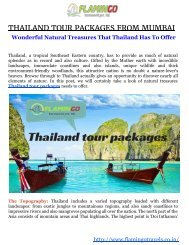Thailand tour-Tropical Southeast Asian country