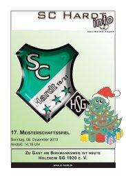 Saison 2013/2014 - Ausgabe 8
