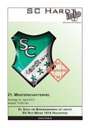 Saison 2012/2013 - Ausgabe 8