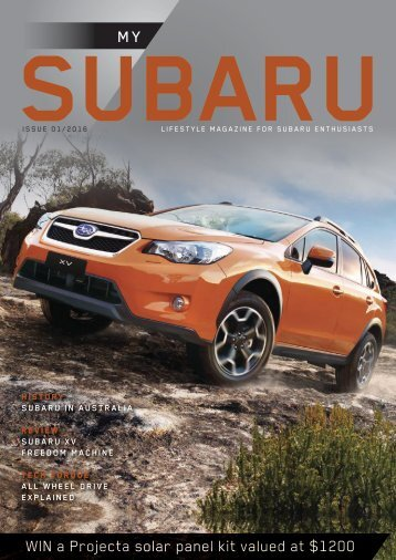 My Subaru Issue 01