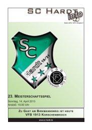 Saison 2012/2013 - Ausgabe 9