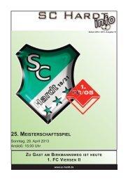 Saison 2012/2013 - Ausgabe 10