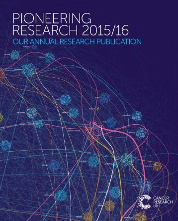 PIONEERING RESEARCH 2015/16