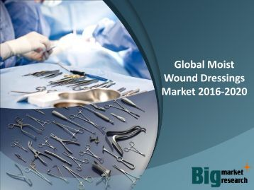 Global Moist Wound Dressings Market 2016-2020