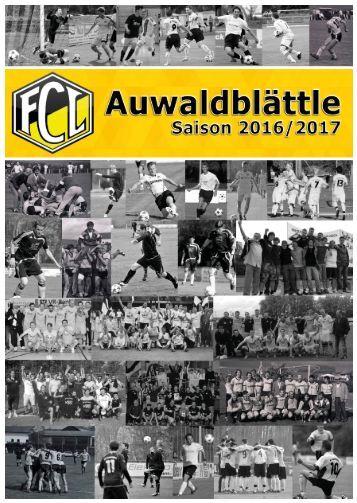 Auwaltblättle Saison 2016/2017