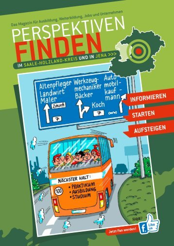 Lehrstellenbörse / Magazin Saale-Holzland-Kreis und Jena in Thüringen