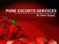Hire Top Best Escorts in Pune