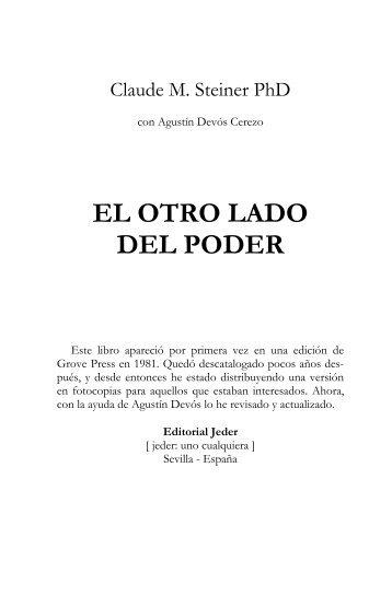 EL OTRO LADO DEL PODER - Jeder Libros