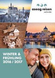 ASEAG Reisen Katalog Winter & Frühling 2016/2017