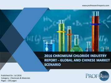 2016 CHROMIUM CHLORIDE INDUSTRY REPORT - GLOBAL AND CHINESE MARKET SCENARIO