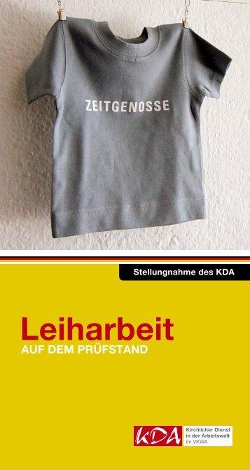 KDA-Impuls-2009_Leiharbeit_Nachdruck2012