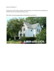 Homes For Sale Mystic CT