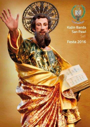 Kazin Banda San Pawl Safi 2016