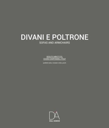 134 DallAgnese CATALOG DIVANI E POLTRONE 2016