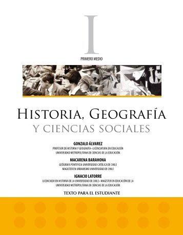 Historia, Geografía - Sala de Historia