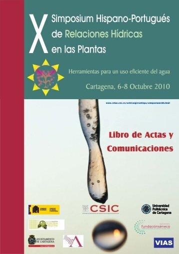 programa - Cebas-CSIC - Consejo Superior de Investigaciones ...