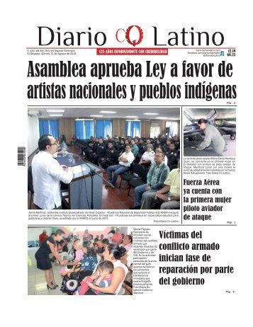 Edición 12 de Agosto de 2016