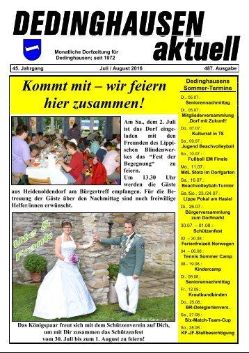 Dedinghausen aktuell 487