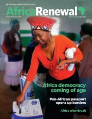 Africa democracy coming of age