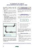 Le perdite di carico negli impianti Il dimensionamento dei ... - Caleffi - Page 4