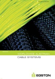 WORLDWIDE AUSTRIAN CABLE SYSTEMS - Egston