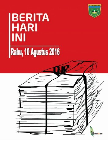 e-Kliping Rabu, 10 Agustus 2016