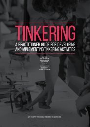 Tinkering-A-practitioner-guide