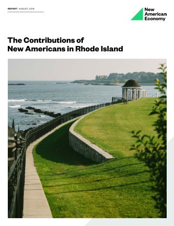 The Contributions of New Americans in Rhode Island
