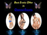 Call Girl Services in Chennai Independent Escorts