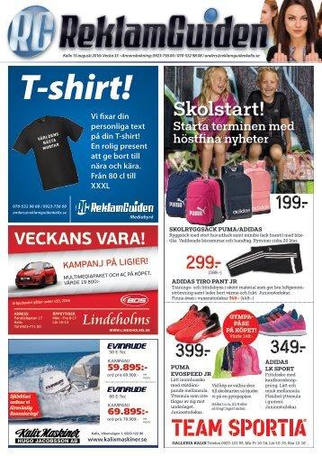 ReklamGuiden Kalix v33 -16 (15/8-21/8)