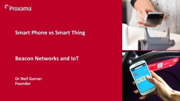 Beacon Networks and IoT