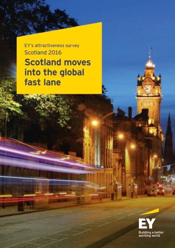 Scotland moves into the global fast lane