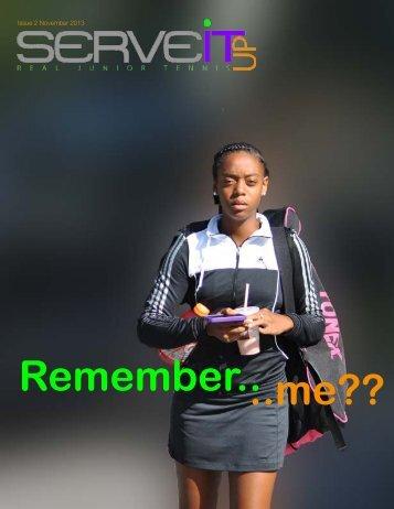 Serveitup Tennis Magazine #2