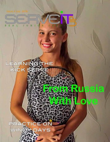 Serveitup Tennis Magazine #5