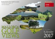 Mallorca Golf Views 2017