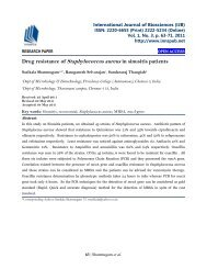Drug resistance of Staphylococcus aureus in sinusitis patients