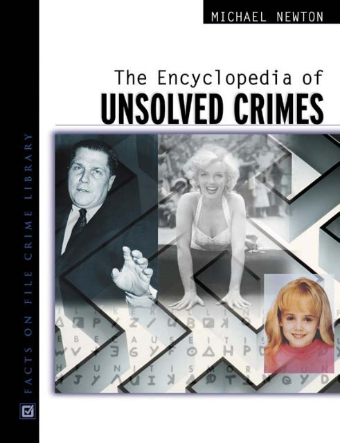 Encyclopedia of Unsolved Crimes