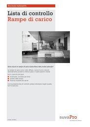 Check-list suva rampe di carico
